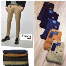 Zara 🔥🔥 Man Casual Pant Black,34