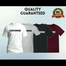 Converse Ready Stock Cotton T-Shirt Unisex 100% Cotton New Baju Lelaki & Perempuan
