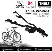 Thule ProRide 598002 Roof Bike Rack/Bike Carrier - Black [Cycling RoadBike Mountainbike]