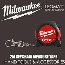 Milwaukee 2M / 6' Keychain Measure Tape ( 48225506 )