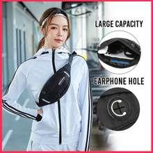WEROCKER Sifubeg Ladies Sport Waist Bag 2821 (Black) Men Sport Cross Body Bag Ladies Cross Body Bag Men Cycling Bag