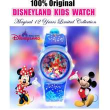 Disney [Ready Stock]Limited Edition Original Land Mickey Mouse Minnie Kids Watch Children Watches/Jam Tangan Kanak-Kanak