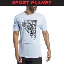 Reebok Men Graphic Activchill+Cotton Tee Shirt Baju Lelaki (Fj4618) Sport Planet R5
