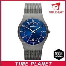 Skagen (Official Warranty) 233Xlttn Titanium Steel Mesh Men'S Watch