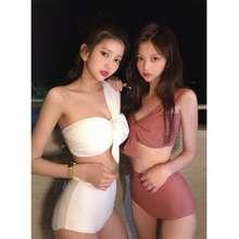 CHUU 【Ready Stock】 Korea - Big Ribbon Summer Goddess Bikini