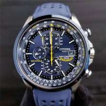 CITIZEN Fashion Hot Sale Automatic Quatz Waterproof Watches Blue Angels World Chronograph Men'S Watch With Gift Box
