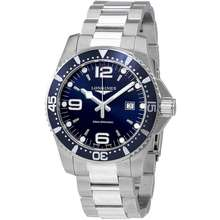 Longines HydroConquest Blue Dial Stainless Steel Mens 44mm Watch L38404966
