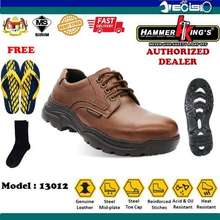 HAMMER KING S 13012 Low Cut Laced Safety Shoes (Brown) (UK:6)