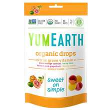 YumEarth Organic Citrus Grove Vitamin C Drops 93.5G