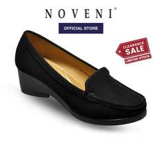 Noveni Women Slip On Faux Suede Comfort Loafers - 180860244