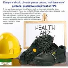 Orex Kasut Men Shoes /Low Cut Safety Shoes 500 (Black)