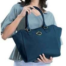 AVON O Handbag - Deep Blue