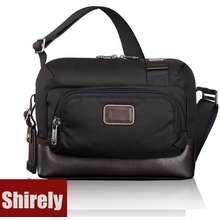 Tumi 【Shirely.My】【Ready Stock】 Alpha Bravo 222305D Lester Cross Body Bag Sling Bag For Men/Women Messenger Bag