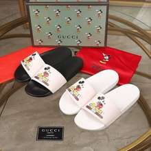 Gucci Mickey Slippers🌸Men And Women Size