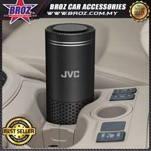 JVC Portable Car Air Purifier KS-GA100 HEPA Filter with 3-stage filtration / Motion Activated Controls / Portable enough for car cup holder