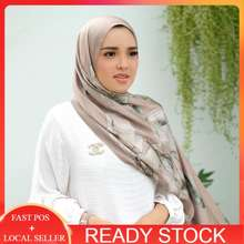 Buttonscarves Iris Camel Shawl Satin By
