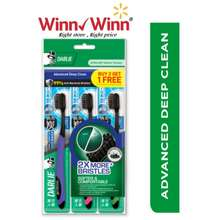 DARLIE Charcoal Extra Toothbrush Buy 2 Free 1