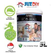 Smart Zero VOC Ceiling & Wall Pure White 5L # Interior Wall #