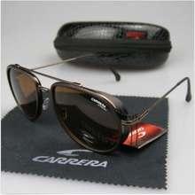 Carrera 2021 New Men Womens Retro Sunglasses Fashion Windproof Metal Glasses C-38 With Box