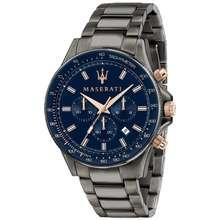 Maserati Sfida Gunmetal Metal Band Quartz Chronograph Men'S Watch R8873640001
