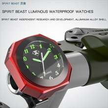 Spirit Beast Motocross Table Clock Parts Scooter Decorative Luminous Hour Bell Waterproof Electronic Bell Car Clocks And Watches Sports Watch