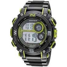 Armitron Sport Men'S Digital Chronograph Resin Strap Watch (54Mm) 40/8284Lgn
