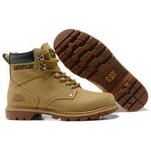 Caterpillar Red Wing Safety Shoes Men Women Safety Boots Sneakers Shoes Coffee,42