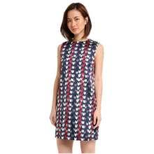 Dressing Paula Jacquard A-Line Shift Dress - Blue D15-4514