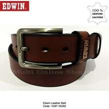 Edwin Genuine Leather Pin Buckle Belt 1Ebt 35292