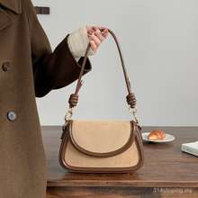 Micocah Women Bag Khaki Small Bags Korean Swagger Fashion Trends Single Shoulder Bag Inclined Shoulder Bag Sling Bag Sbty