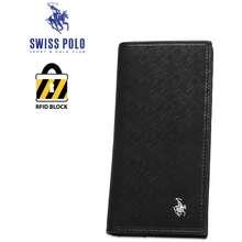 SWISS POLO Rfid Long Wallet Sw 138-1 Black
