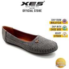 XES Ladies Bslces19 Classic Flats - Grey/Pink