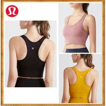 lululemon Women'S Yoga Underwear With Chest Pad Yoga Bra Sport Vest Cs-33