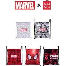 Miniso X Marvel Design Drawstring Bag