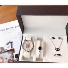 Gucci Women Necklace Fashion Gift Set Gift Box