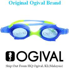 Ogival Kids Professional Swimming Goggles With Anti-fog UV Protection