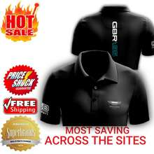 Aston Martin ‼️Clearance Sales‼️ Racing Team Men'S Short Sleeve Polo Collar T-Shirt 100% Cotton