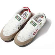 Feiyue X Luckycat Red And Green Mandarin Duck Low Top Soft Bottom Canvas Lovers Casual Shoes Women 0059