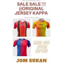 Kappa 💯Original T'Shirt Jersey Promotion 3Pcs Rm50