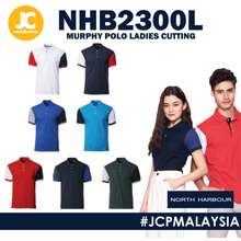 North Harbour Ladies Signature Murphy Polo - White / Navy / Red / Royal / Sapphire / Forest Green Nhb2300 Nhb2300L
