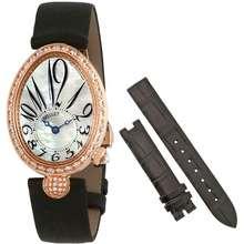 Breguet Reine de Naples 18kt Rose Gold Automatic Mother of Pearl Dial Ladies Watch 8928BR/5W/844.DD0D