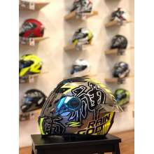 Zeus Helmet 811 raingod silver / black