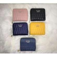 GUESS Women'S Brinkley Zip Short Wallet (Include Box)(Gw100,102,103,104,105)