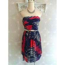 Karen Millen Printed Tube Dress