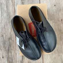 Clarks [Hot Sale] Desert Trek 02 Genuine Leather Smart Casual Black Leather S1690001 Kasut Kulit Lelaki Men Man Shoes