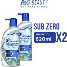 Head & Shoulders Sub-Zero Anti-Dandruff Shampoo 620ml Bundle Pack