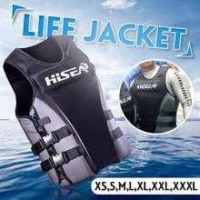 Hisea Adult Professional Life Jackets Life Vest Neoprene Swimming Jackets Xs,S,M,L,Xl,Xxl,Xxxl