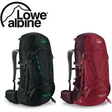 Lowe Alpine Cholatse ND60:70 Litres Backpack Trekking Hiking Camping (Designed for Women) (Rio Red Fig)