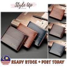 Fuerdanni Styleup Men Short Wallet For Men Leather Wallet Dompet Lelaki