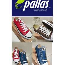 Jazz Star Pallas Unisex Canvas Casual Shoes (Extra Size Available)  Kasut Kain Pallas
